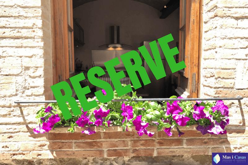 RESERVE Casa Pedreta