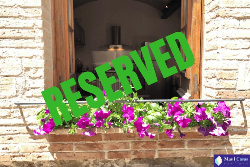 RESERVED Casa Pedreta